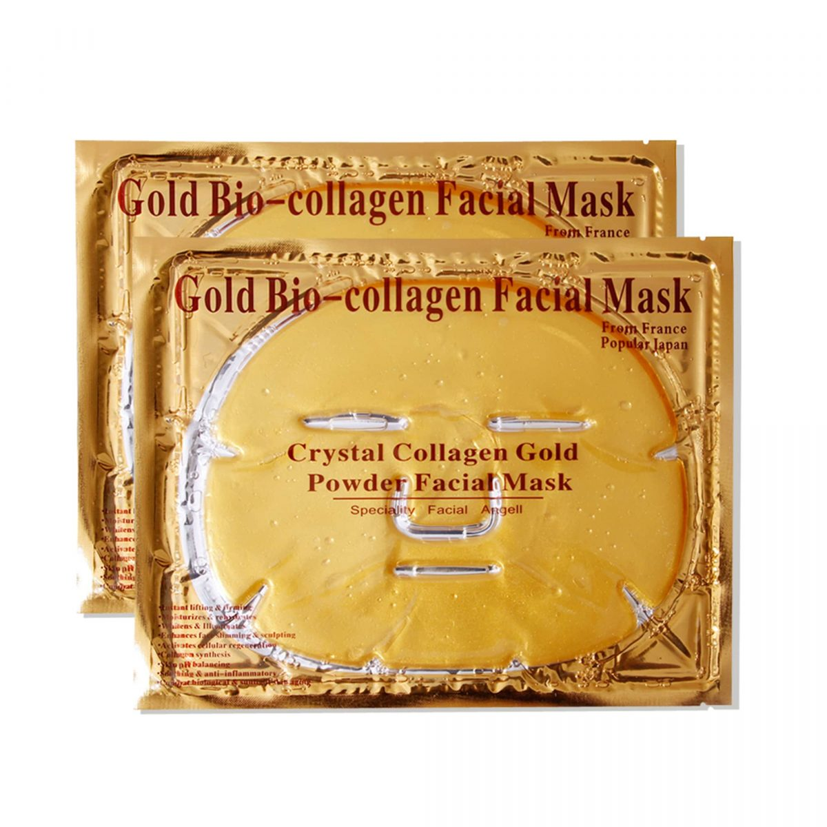 ماسک طلا و کلاژن گلد کامل صورت