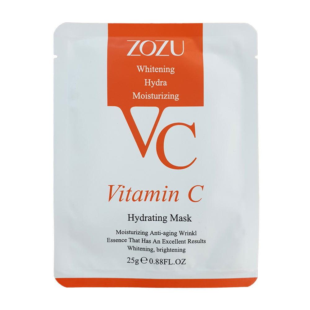 ماسک ورقه ای صورت ویتامین C برند زوزو ۲۰۲۰