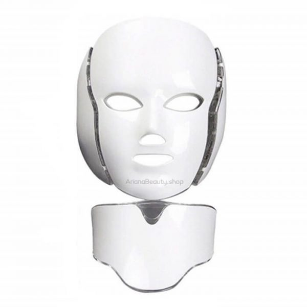 ماسک ال ای دی صورت ۷ رنگ مدل سفید