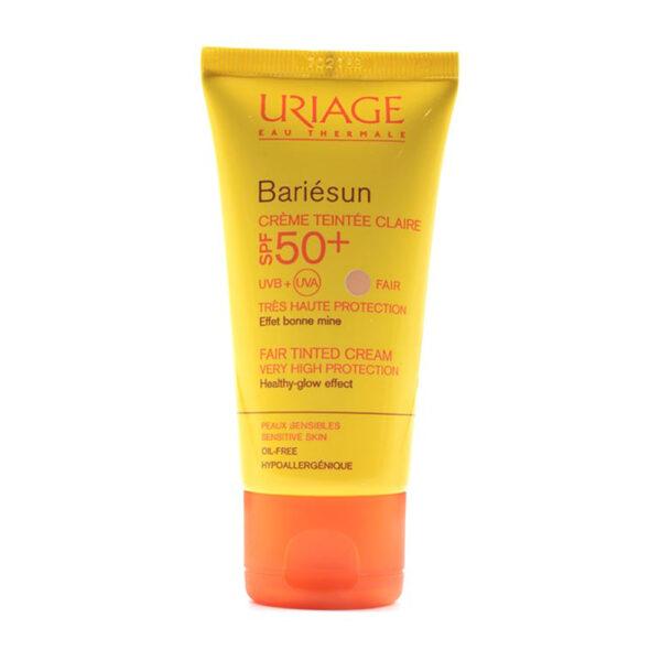 کرم ضد آفتاب بری سان +SPF50 رنگی اوریاژ مناسب انواع پوست ۵۰ میل