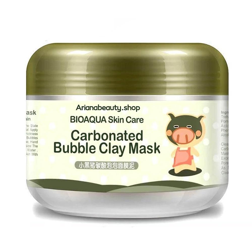 ماسک حبابی مغذی کربن بیواکوا