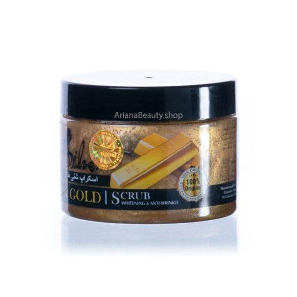 اسکراب شنی طلا سیلور حجم 350 میلی لیتر