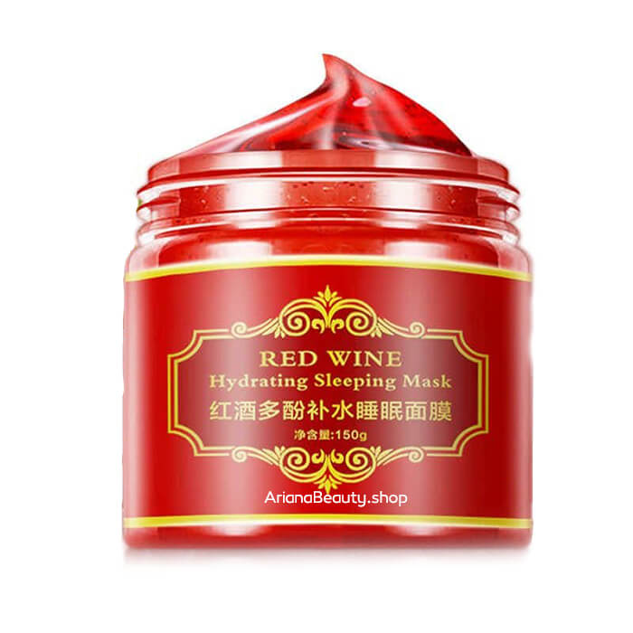 ژل ماسک شراب قرمز کره ای