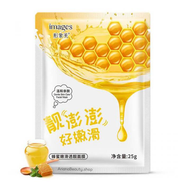 ماسک ورقه ای عسل برند ایمجز 25 گرمی