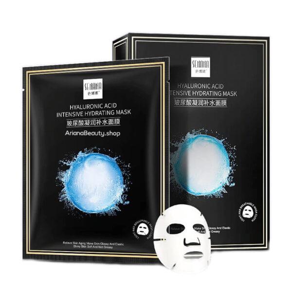 ماسک ورقه ای صورت هیالورونیک اسید سنانا