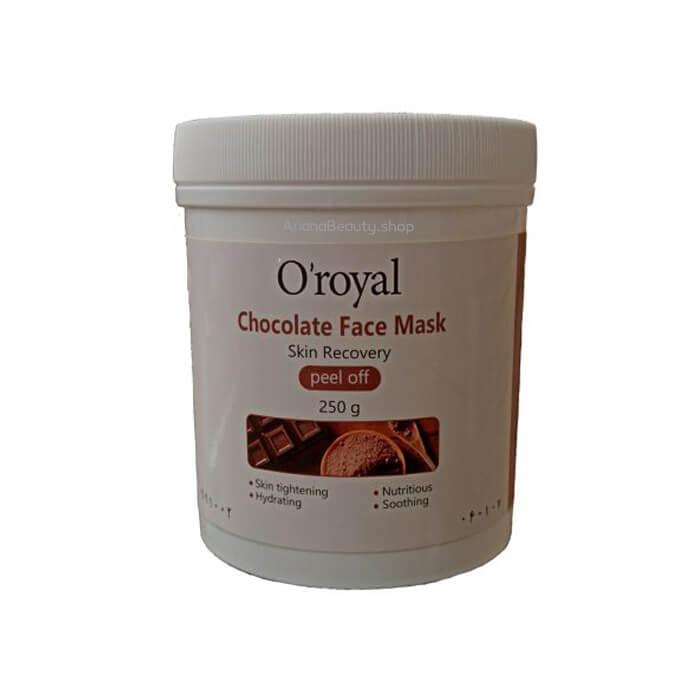ماسک پودری پیل آف رویال عصاره شکلات