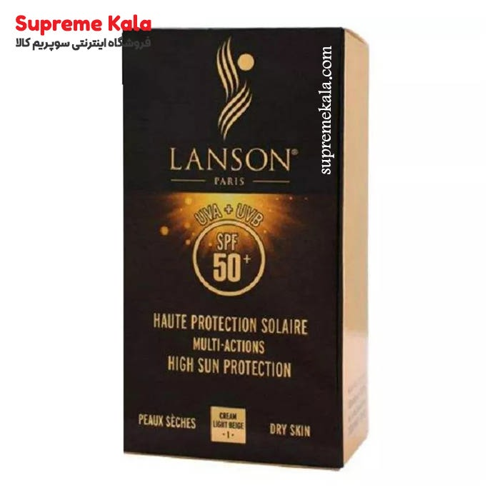 ضد آفتاب لانسون spf50